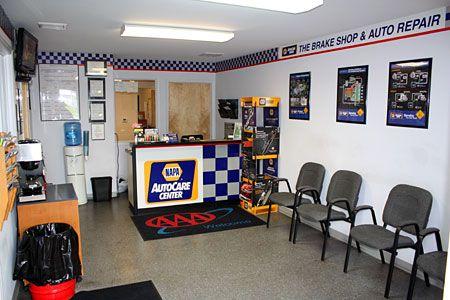 Auto Shop Waiting Room Car Shop Automotive Repair Shop