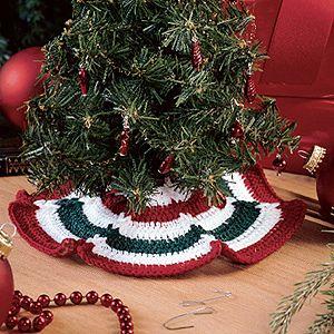 Itty Bitty Tree Skirt Tree Skirt Pattern Crochet Tree Skirt Christmas Tree Skirts Patterns