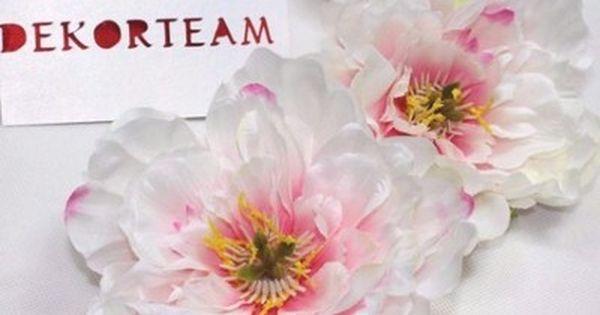 Peonia Glowka 13 Cm Jak Zywa Kwiat Sztuczny 6752810597 Oficjalne Archiwum Allegro Kwiat Wreaths