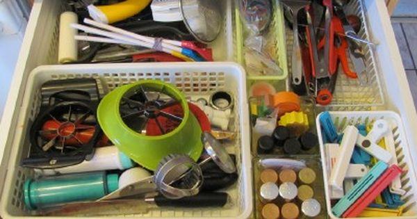 organizing kitchen cooking utensils - Kitchen Utensil Storage Ideas