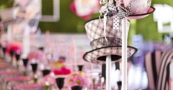 Mad Hatter Tea bridal Party Ideas | Hatter Tea Party Theme. Wonderland