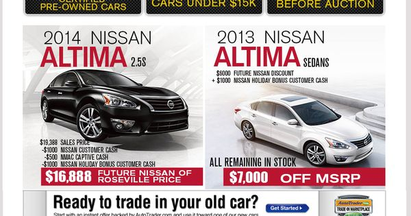 memorial day sales nissan