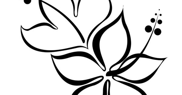 flower tattoos hibiscus duo tattoo