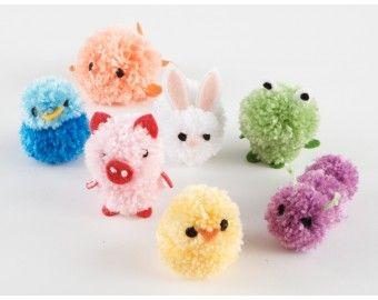 Pom Pom Animals Pattern Crafts Pom Pom Animals Pom Pom Crafts