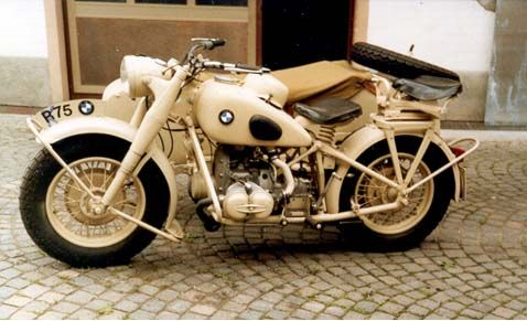 Bmw R75 1044 Bmw Motorcycles Motorcycle Sidecar Military Motorcycle