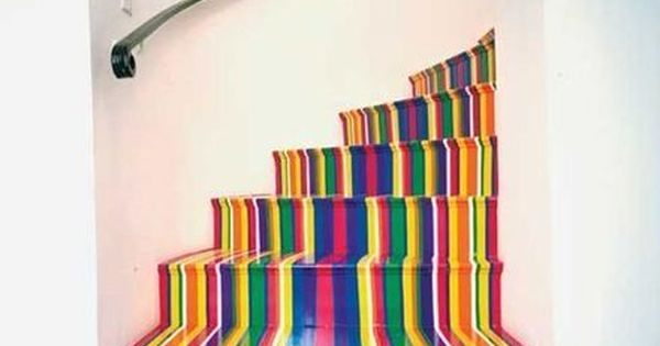 Stairway to rainbow heaven