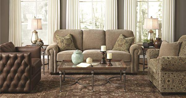 Flexsteel Living Room Harrison Sofa 044191 Furniture Fair Cincinnati Dayton Oh And