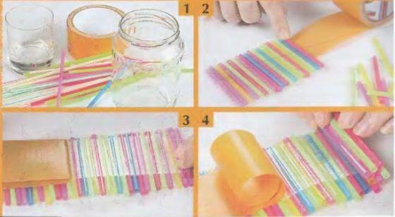 Straw Crafts 20 Fun Straw Art Ideas For Toddlers Preschoolers