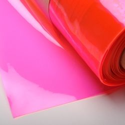 Clear Neon Pink Edge Glow Plastic Ml214196 Neon Pink Vinyl Fabric Neon Decor Pvc Fabric