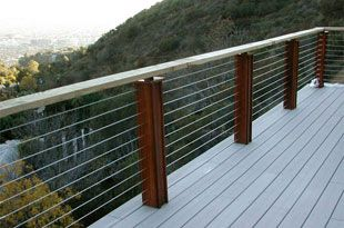 Stainless Steel Cable Railing Cable Railing Systems Cable Deck