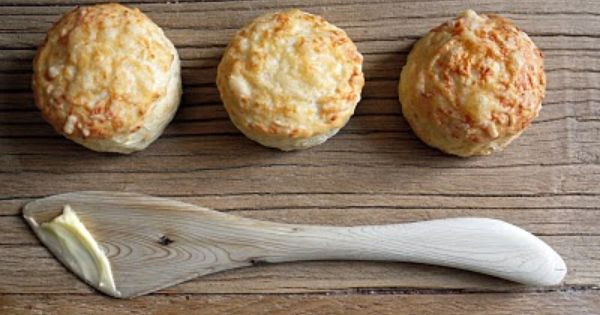 Scones, Parmesan and Biscuits on Pinterest
