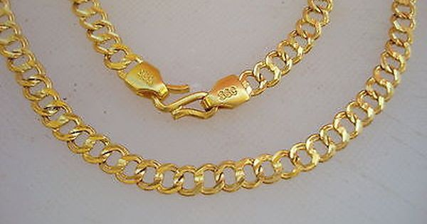 Traditional Design 20kt Gold Chain Necklace Handmade Gold Chain Ebay Gold Chains Gold Handmade Necklaces