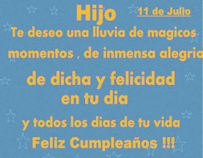Tarjetas Frases Imágenes De Feliz Cumpleaños Para Mi Hijo Varón Palabras De Feliz Cumpleaños Felicitaciones De Cumpleaños Felicitaciones De Cumpleaños Hija