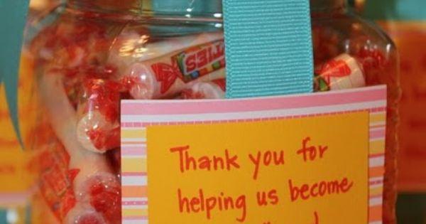 Teacher appreciation idea Very cute idea!!