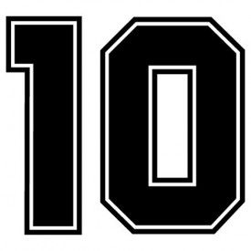 Images Of Number 10 Outline Number 10 With Images Print