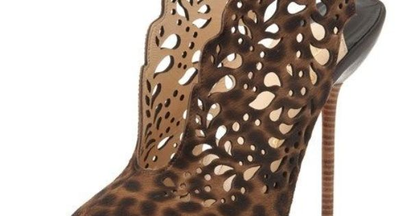 gold christian louboutin shoes - christian louboutin ponyhair markesling 120 laser-cut pumps, shoes ...