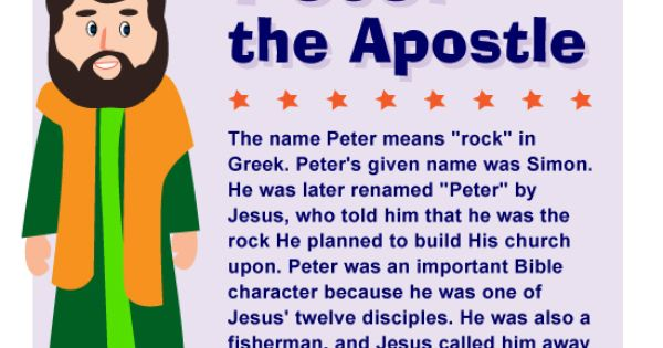 From Disciple Simon to Apostle Peter - an Amazing ...