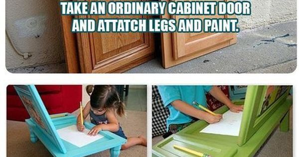 drawing tables for kids craft idea- cute little tables for kids from