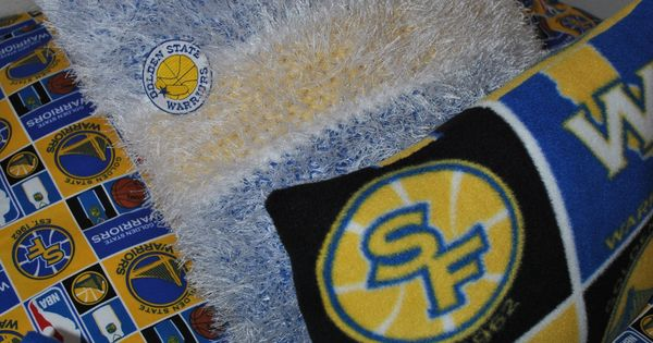 Golden State Warriors Bedroom Pillows Jake S Golden
