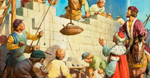 Nehemiah Rebuilds the Wall of Jerusalem