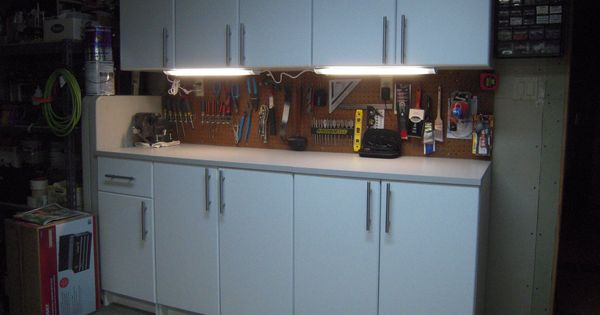 After: Under counter lighting has been added to complete the project ...