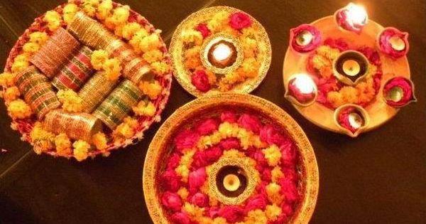 Mehndi Fruit Decoration : Mehndi plates great wedding ideas pinterest