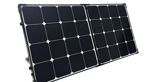 Renogy 100 Watt Eclipse Monocrystalline Solar Suitcase With Charge Controller Check This Awesome Produ Solar Panels Best Solar Panels Solar Panels For Home