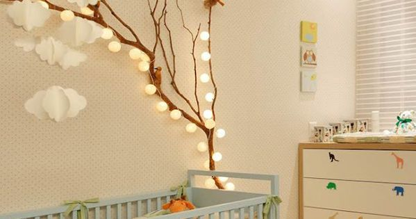 cute nursery decor quartodebebê