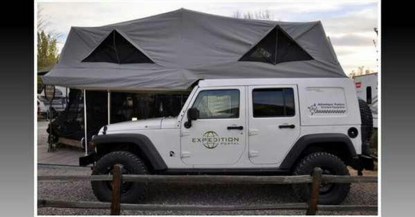 The Ursa Minor J180 Jeep Jk Habitat At The 2011 Overland