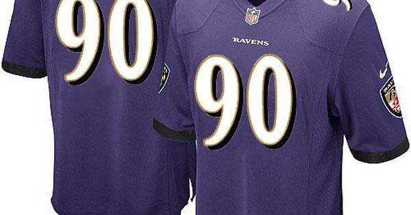 wholesale dealer 0609c e2f79 nike nfl baltimore ravens 90 pernell mcphee purple youth ...