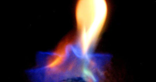 Science Experiment Make Colored Fire Science Experiments