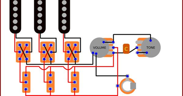 guitar pickup wiring schematic images guitar wiring blog diagrams and tips the brian s guitar wiring
