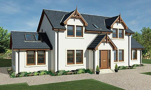 And This One House Plans Uk Self Build Houses House Designs Exterior