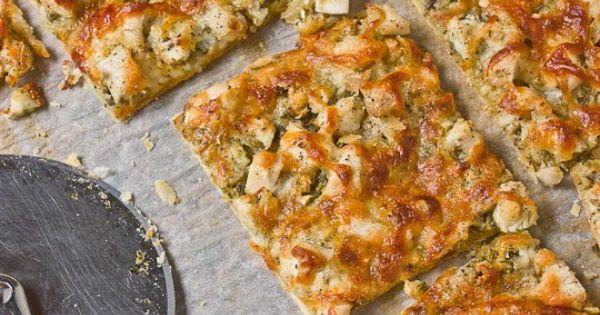 Pesto Chicken Tart | Recipe | Pesto Chicken, Pesto and Tarts