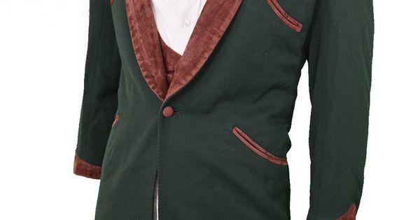 1960s Teddy Boy Drape Jacket & Waistcoat