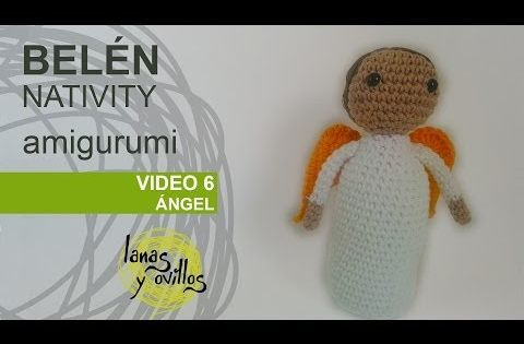 Belen Nativity Amigurumi : Tutorial Belen Amigurumi Part 6: angel (Nativity English ...
