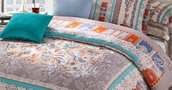 lelva moroccan bedding sets boho duvet cover set bohemian style bedding set queen king size 4pcs. Black Bedroom Furniture Sets. Home Design Ideas