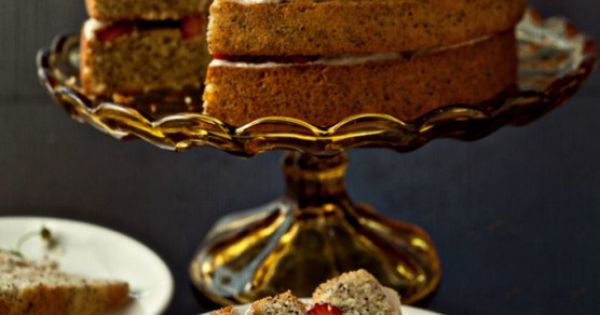Poppy seed cake, Seed cake and Mascarpone on Pinterest