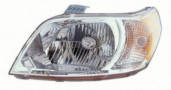 2011 Chevrolet Aveo 5 Left Driver Side Head Light Assembly For