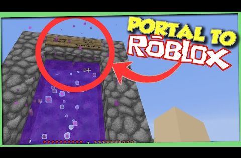 Minecraft How To Make A Portal To Roblox No Mods