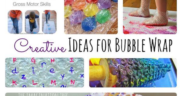 Creative Ideas For Bubble Wrap Bubble Wrap Bubbles And
