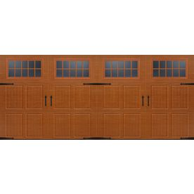 Door 10 But In Darker Brown Double Garage Door Garage Door Windows Garage Doors