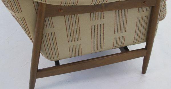 Danish modern dux folke ohlsson sofa couch danishes danish modern and modern - Selig z chair reproduction ...