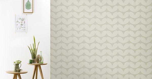 Roomblush behang wallpaper hearts kaki behangpapier woonkamer slaapkamer interieur design - Behang grafisch ontwerp ...
