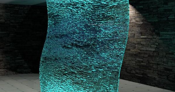 Glass Waterfall Revit Models Pinterest Indoor