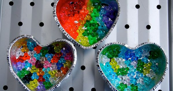Melting bead sun catchers crafts for older adults for Crafts for older adults