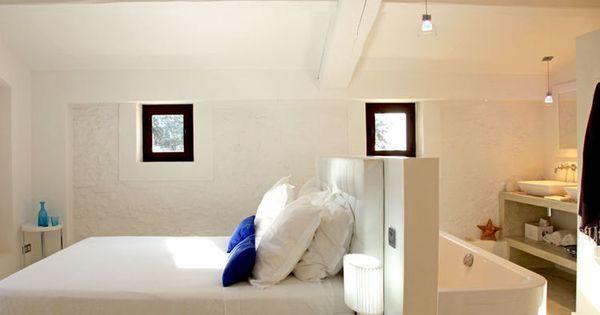 comment faire une salle de bains ouverte sur la chambre salle de bains ouverte les salles. Black Bedroom Furniture Sets. Home Design Ideas