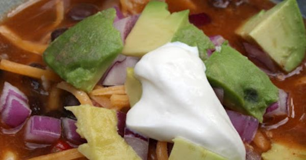 vegitarian tortilla soup