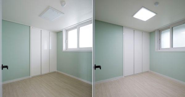 한샘 소프트 모던 32평 아이방  벽지  Pinterest  벽지, 침실 ...