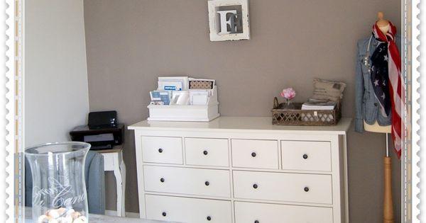 Witte kozijnen taupe muur google zoeken idee n voor het huis pinterest witte kozijnen - Witte kamer en taupe ...